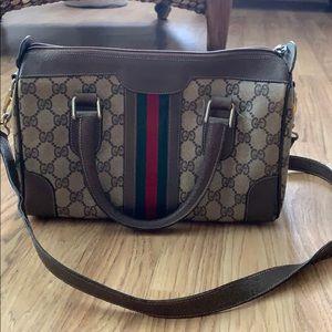 Vintage Gucci satchel handbag